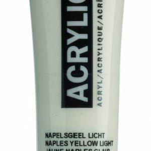 Amsterdam Acrylverf Napelsgeel Licht 20 ml