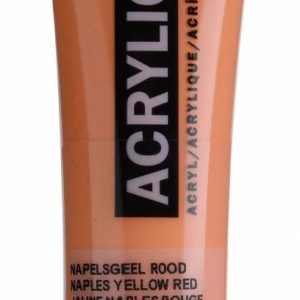Amsterdam Acrylverf Napelsgeel Rood 20 ml