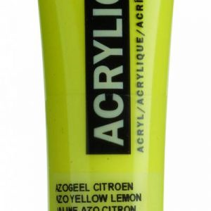 Amsterdam Acrylverf Azogeel Citroen 20 ml