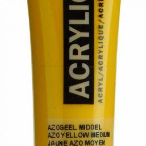 Amsterdam Acrylverf Azogeel Middel 20 ml