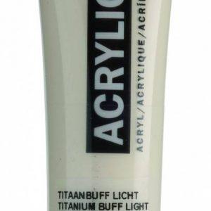 Amsterdam Acrylverf Titaanbuff Licht 20 ml