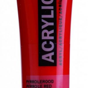 Amsterdam Acrylverf Pyrrolerood 20 ml