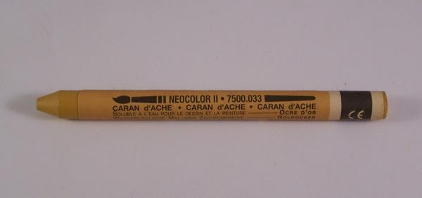 Neocolor II Golden Ochre