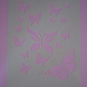 Stencil Vlinders
