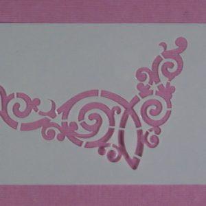 Stencil Swirl Stijl 1