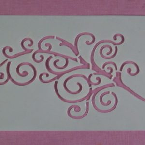 Stencil Swirl Stijl 2