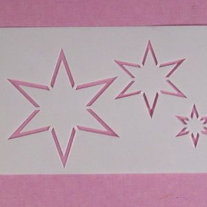 Stencil Stars Stijl 2