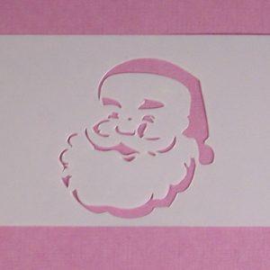 Stencil Kerstman