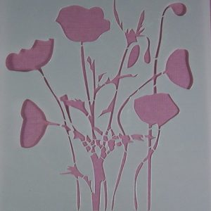 Stencil Wildflowers stijl 6