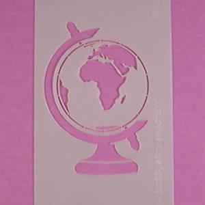 Stencil Kleine Wereldbol
