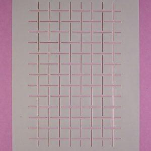 Stencil vierkanten klein