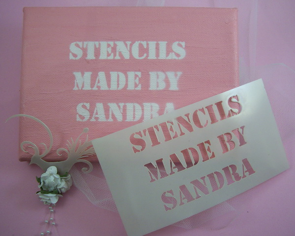 Stencils Made by Sandra