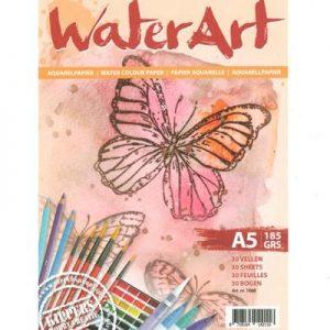 Waterart Papier Aquarelpapier A5