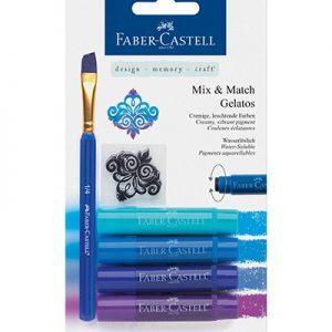 Faber Castell Gelatos Blauw
