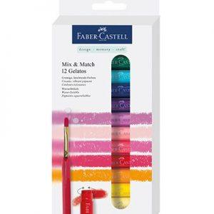 Faber Castell Gelatos 12 kleuren