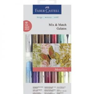 Faber Castell Gelatos Metallics