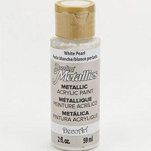 Deco Art Dazzling Metallics White Pearl
