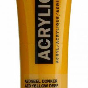 Amsterdam Acrylverf Azogeel Donker 20 ml