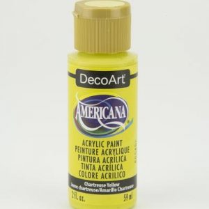 Deco Art Americana Chartreuse Yellow