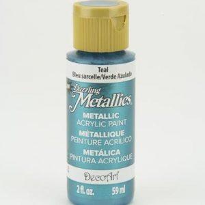 Deco Art Dazzling Metallics Teal