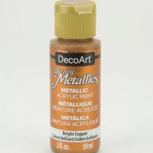 Deco Art Dazzling Metallics Bright Copper