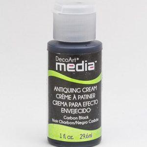 Mixed Media Antiquing Cream Carbon Black