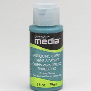 Mixed Media Antiquing Cream Patina Green