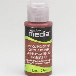 Mixed Media Antiquing Cream Red Oxide