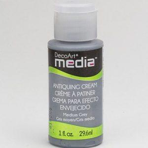 Mixed Media Antiquing Cream Medium Grey
