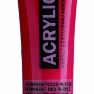Amsterdam Acrylverf Permanentrood Purper 20 ml