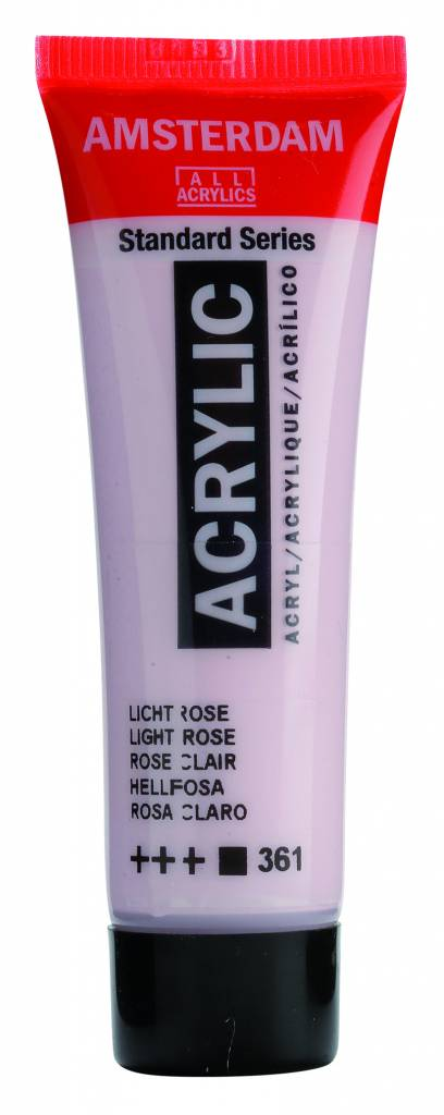 Amsterdam Acrylverf Lichtrose 20 ml