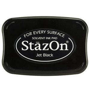 Stazon Inkt Jet Black