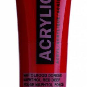 Amsterdam Acrylverf Naftolrood Donker 20 ml
