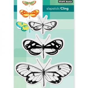 Penny Black Butterfly Trio
