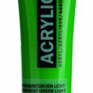 Amsterdam Acrylverf Permanentgroen Licht 20 ml