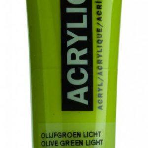 Amsterdam Acrylverf Olijfgroen Licht 20 ml