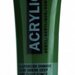 Amsterdam Acrylverf Olijfgroen Donker 20 ml