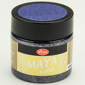 Viva Decor Maya Gold Violet