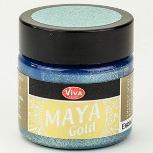 Viva Decor Maya Gold Icebleu
