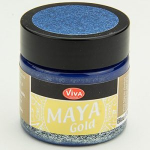 Viva Decor Maya Gold Blue
