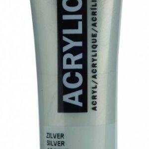 Amsterdam Acrylverf Zilver 20 ml