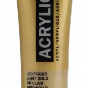 Amsterdam Acrylverf Licht Goud 20 ml