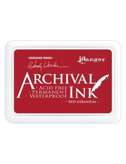 Archival Ink Red Geranium