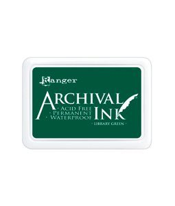 Archival Ink Library Green