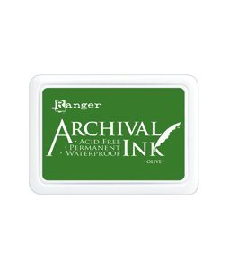 Archival Ink Olive