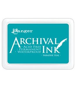 Archival Ink Paradise Teal