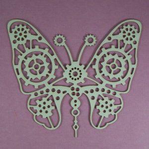 Chipboard steampunk Butterfly