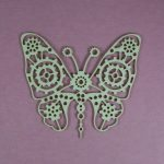 Chipboard steampunk Butterfly Small