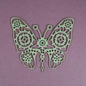 Chipboard steampunk Butterfly Small