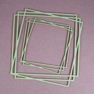 Chipboard Frame Square
